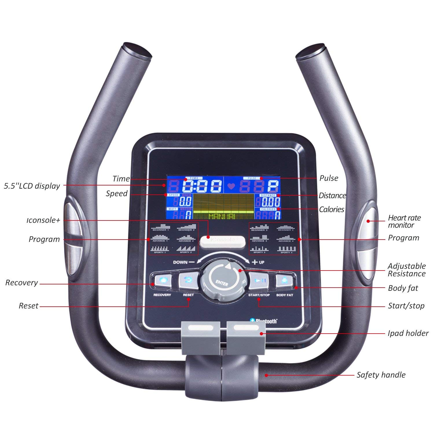 Harison 1160 Your Best Choice Elliptical Machine For Workout